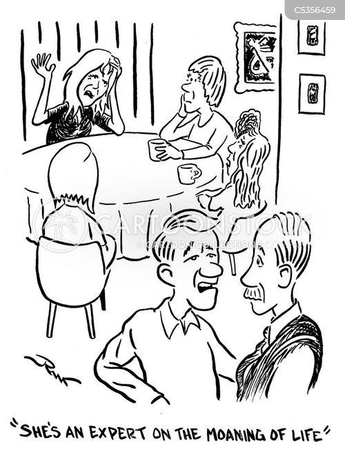 philosophy of life cartoon