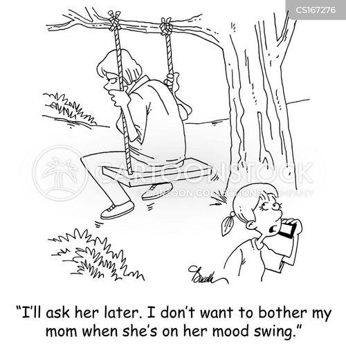 bad mood cartoon