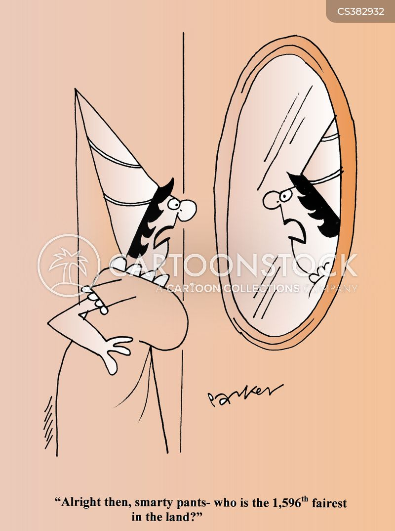 mirror on the wall cartoon