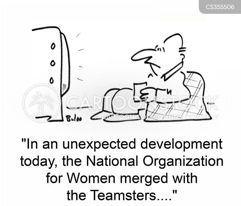 teamsters cartoon