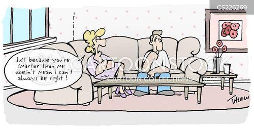 stubborness cartoon