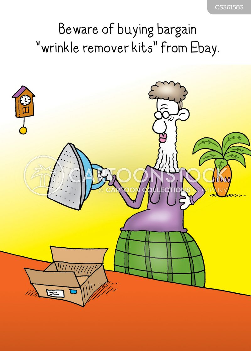 wrinkle remover cartoons and comics funny pictures from