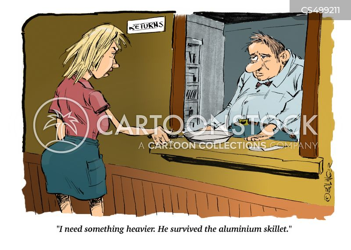 aluminum cartoon