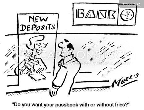 passbook cartoon