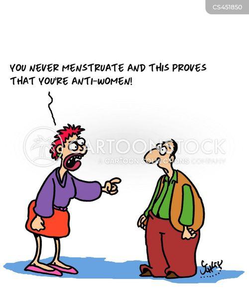 misandrist cartoon