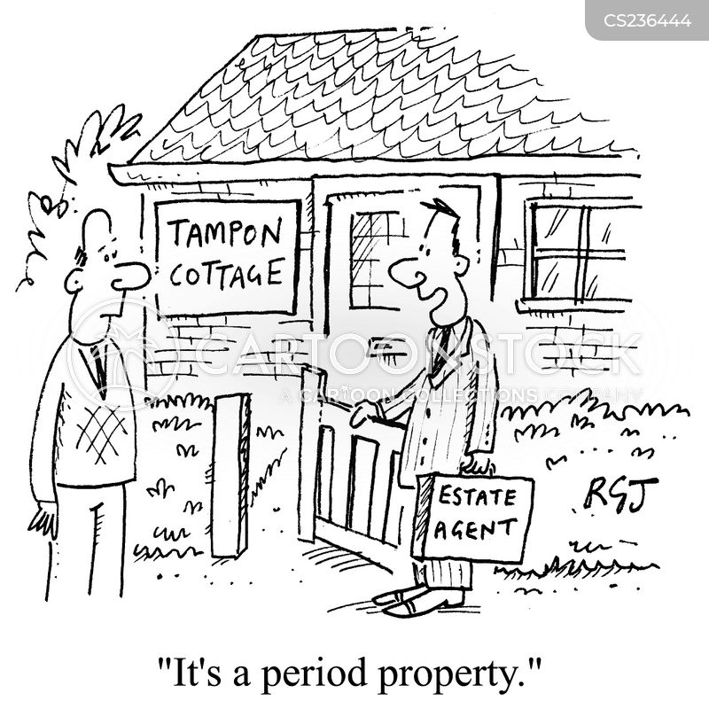 tampons cartoon