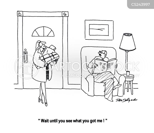 gifting cartoon