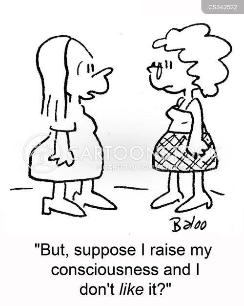 consciousness cartoon