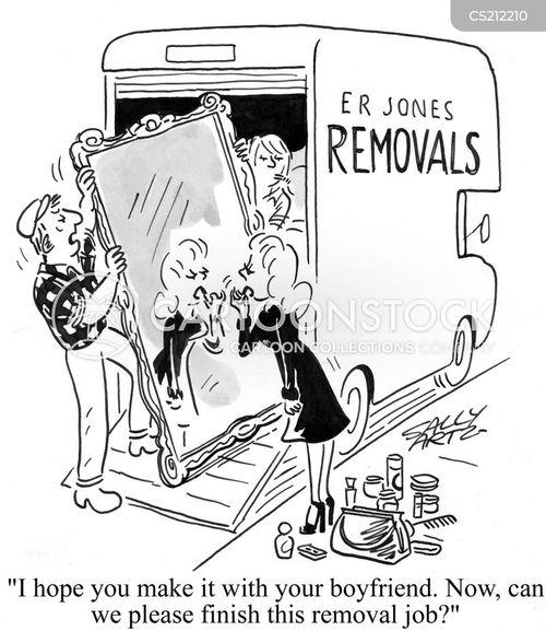 removing cartoon