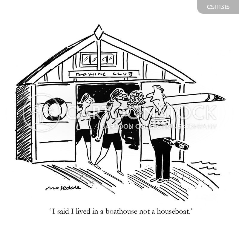 clubhouses cartoon