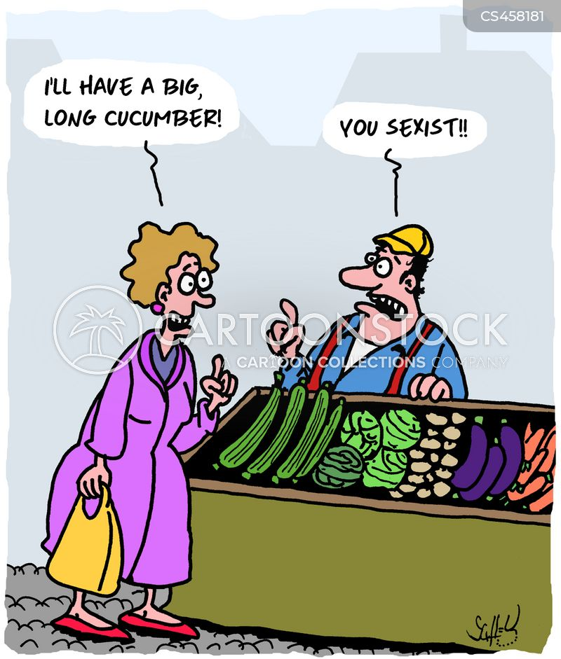 greengrocers cartoon