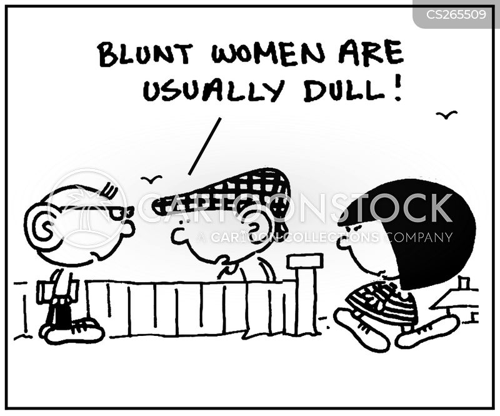 upfront cartoon