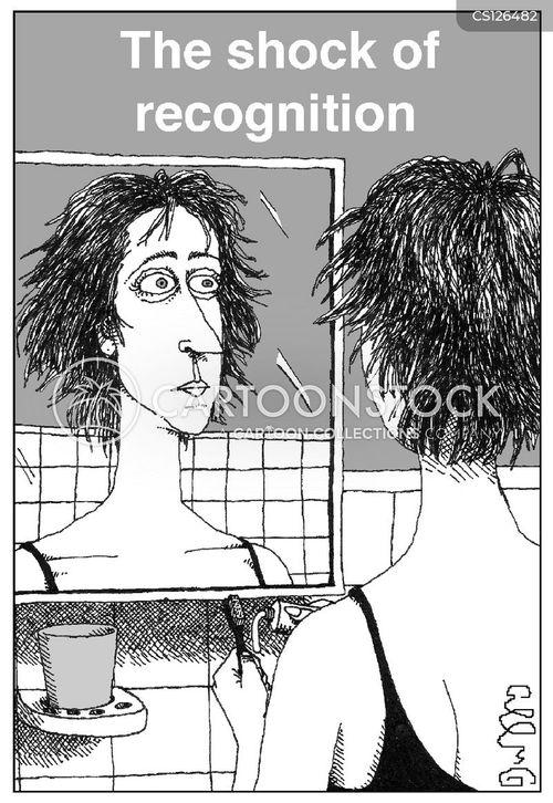 bed head cartoon