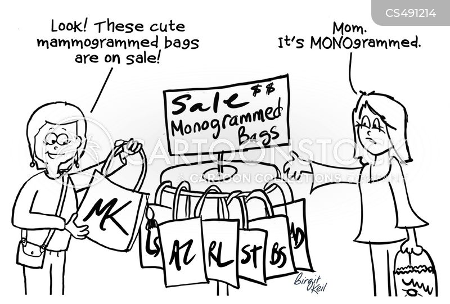 monogram cartoon