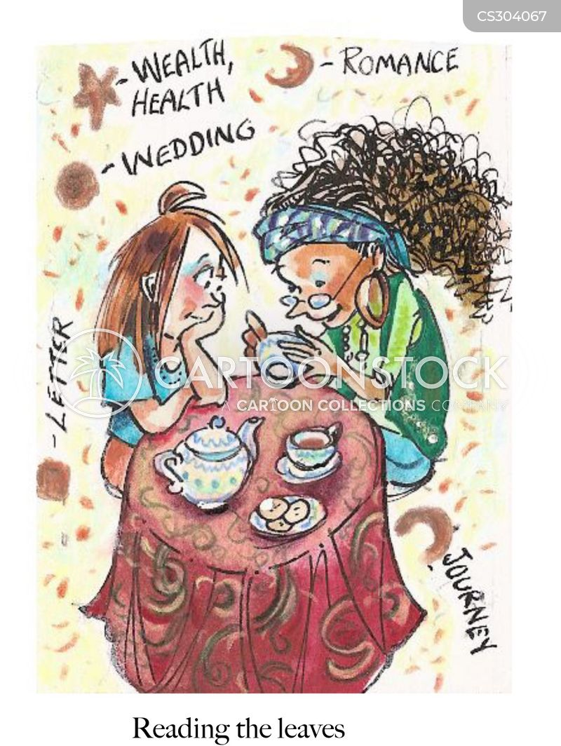 tea room cartoon