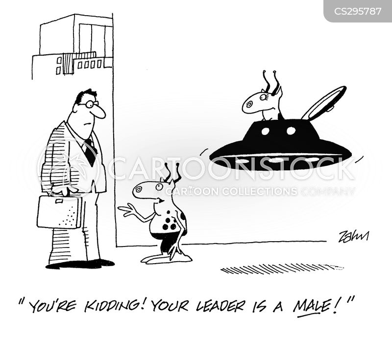 take me to your leader cartoon
