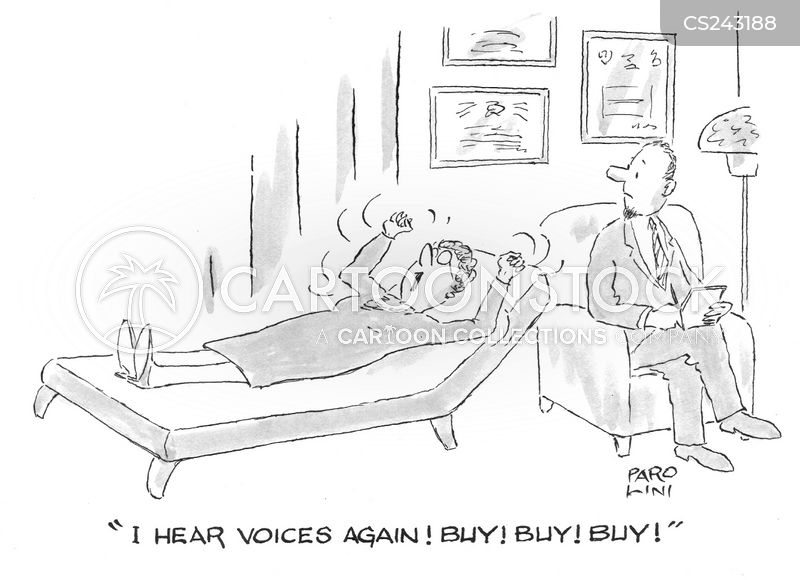 voices in the head cartoon