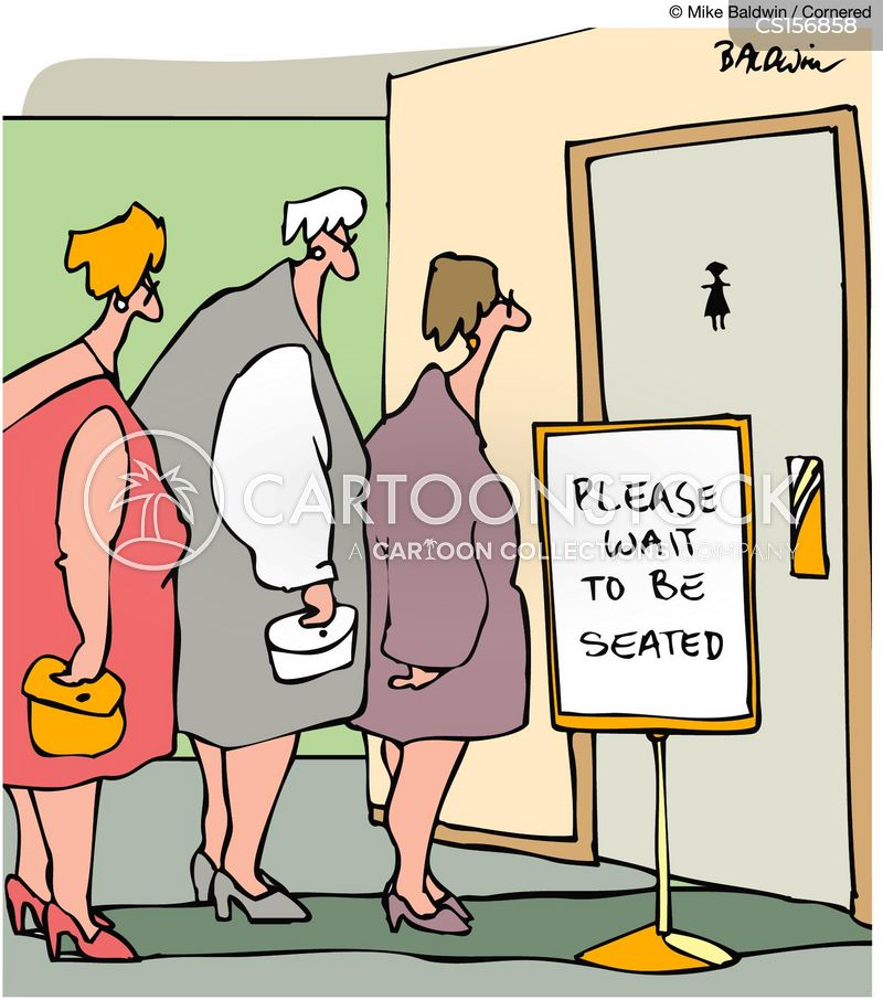 Women's Toilet Cartoons and Comics - funny pictures from ...