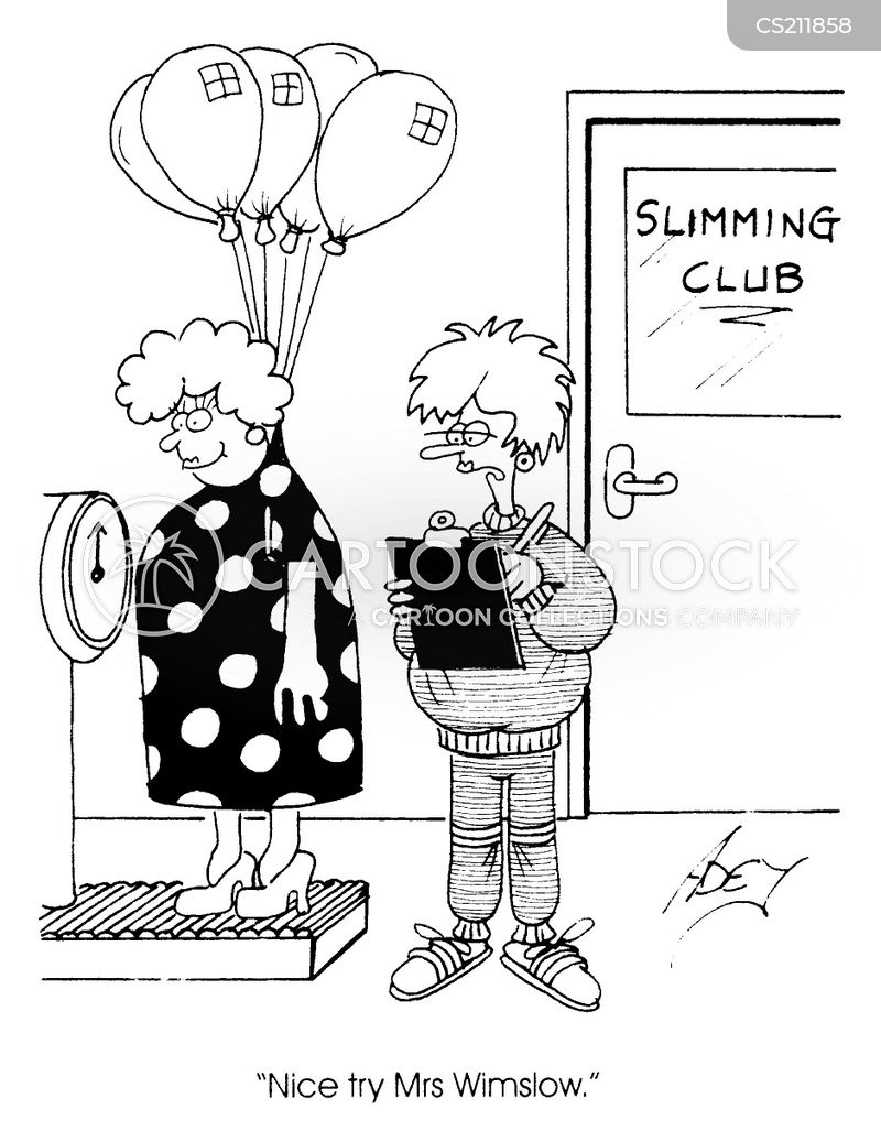 slimming clubs cartoons and comics funny pictures from