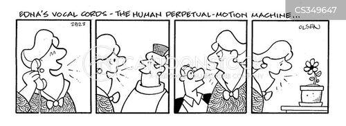 perpetual motion cartoon