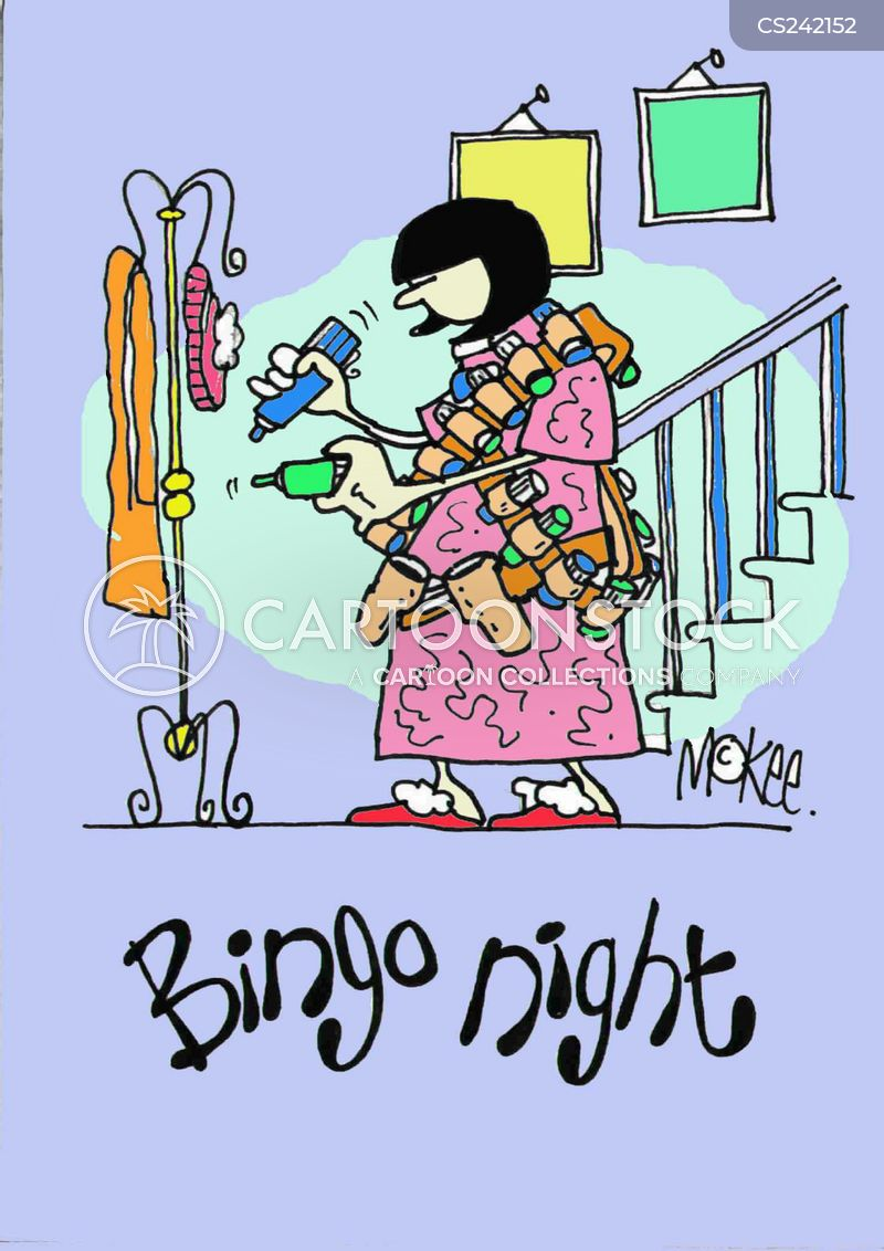 bingo nights cartoon