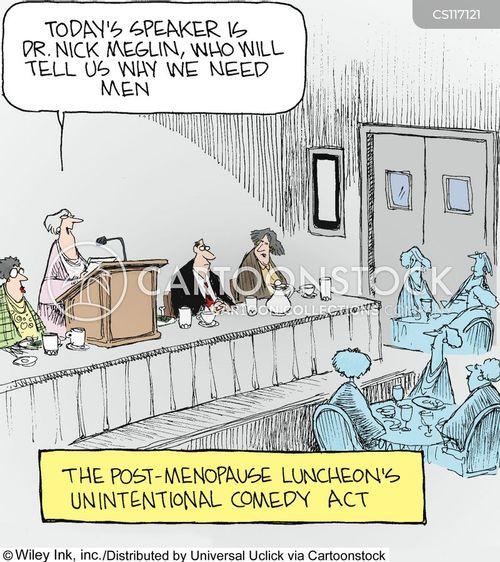 menopausal cartoon