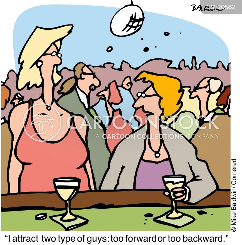 backward cartoon