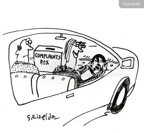 complaints box cartoon