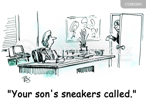 women executive cartoon