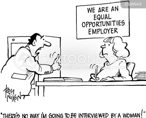 women in business cartoon