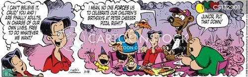 self-sacrifice cartoon