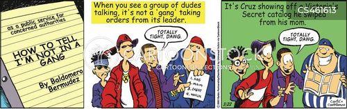 security officers cartoon