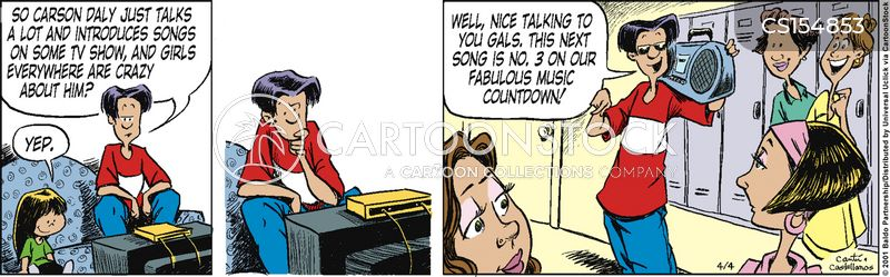 deejays cartoon