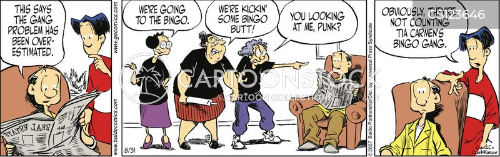 overhyped cartoon