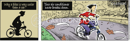 air con cartoon