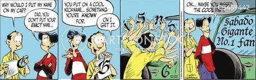 bumperstickers cartoon