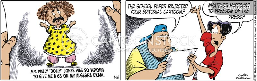 algebra teachers cartoon