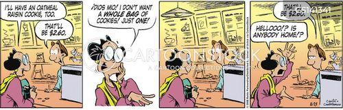 old generation cartoon