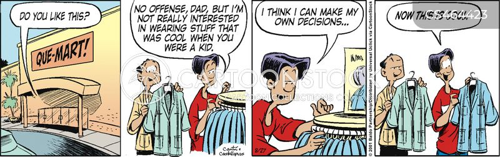 cyclical cartoon