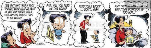 ideal lives cartoon
