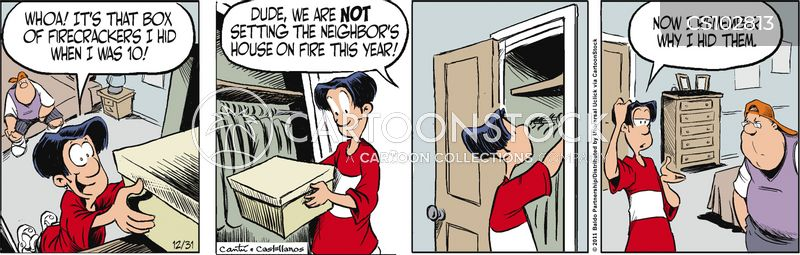firecrackers cartoon