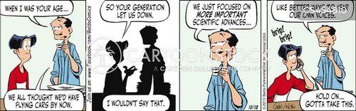 self-obsessions cartoon