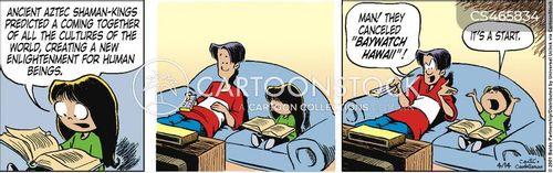 globalist cartoon