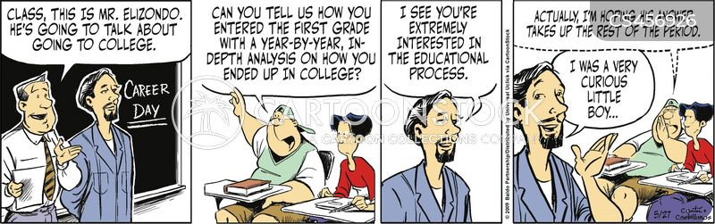 educational process cartoon