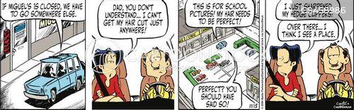 last minute decision cartoon