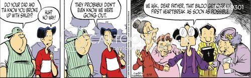 religious family cartoon