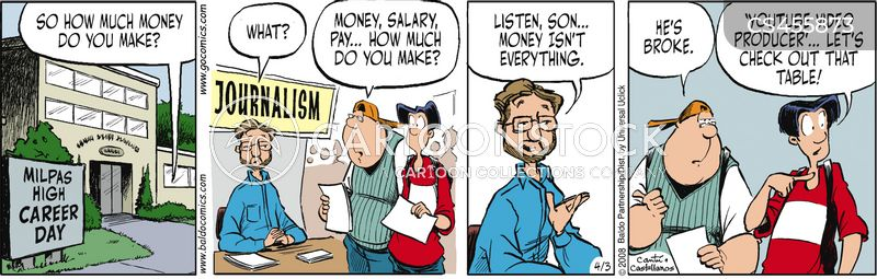reporter salaries cartoon
