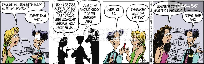 ask for help cartoon