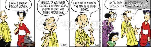latina cartoon