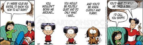 ill-behaved cartoon